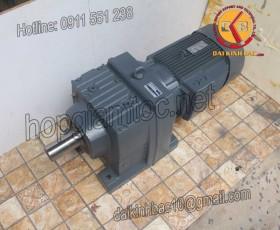Motor giảm tốc 11kw 15HP 1/25