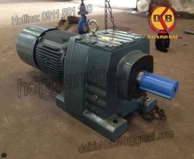Motor giảm tốc 11kw 15HP 1/50