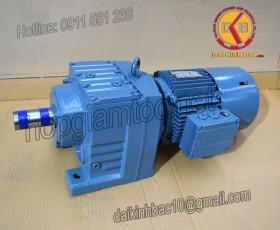 Motor giảm tốc 11kw 15HP 1/60