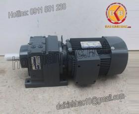 Motor giảm tốc 15kw 20HP 1/30