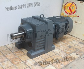 Motor giảm tốc 15kw 20HP 1/50