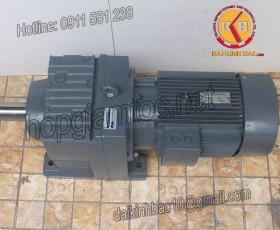 Motor giảm tốc 18.5kw 25HP 1/60