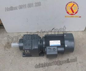 Motor giảm tốc 5.5kw 7.5HP 1/10
