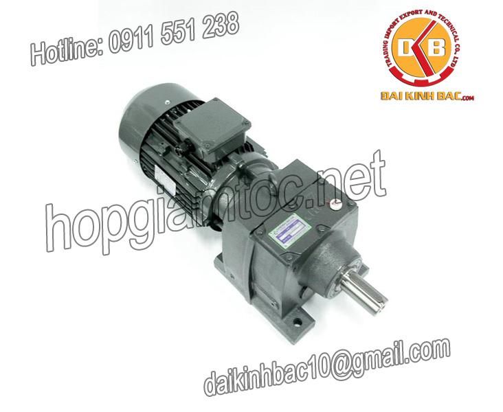 Motor giảm tốc 5.5kw 7.5HP 1/15