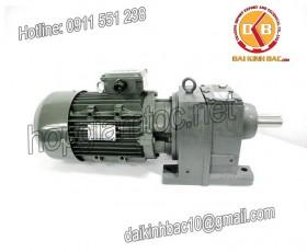 Motor giảm tốc 5.5kw 7.5HP 1/50