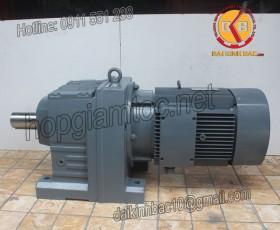 Motor giảm tốc 7.5kw 10HP 1/100