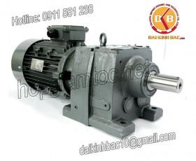 Motor giảm tốc 7.5kw 10HP 1/60