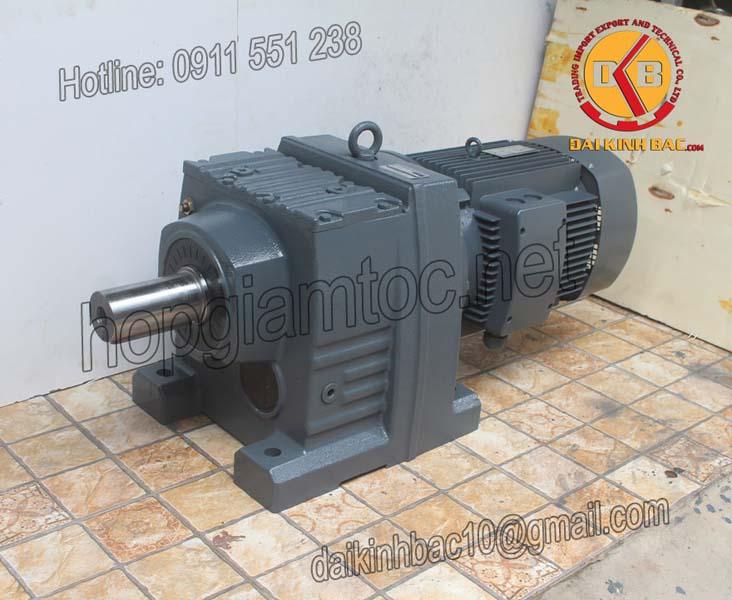Motor giảm tốc bánh răng 11kw 15HP