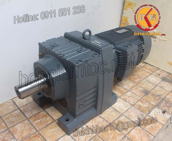 Motor giảm tốc bánh răng 15kw 20HP