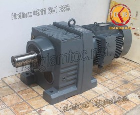 Motor giảm tốc bánh răng 30kw 40HP