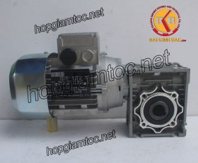 Motor giảm tốc cốt âm 0.37kw 1/100