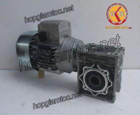 Motor giảm tốc cốt âm 0.37kw 1/15