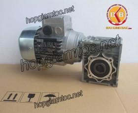 Motor giảm tốc cốt âm 0.37kw 1/5