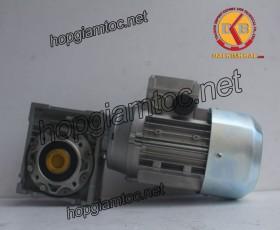 Motor giảm tốc cốt âm 0.37kw 1/50
