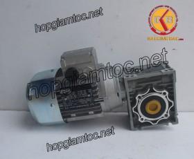 Motor giảm tốc cốt âm 0.37kw 1/7.5
