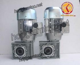 Motor giảm tốc cốt âm 0.55kw 1/100