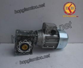 Motor giảm tốc cốt âm 0.55kw 1/5