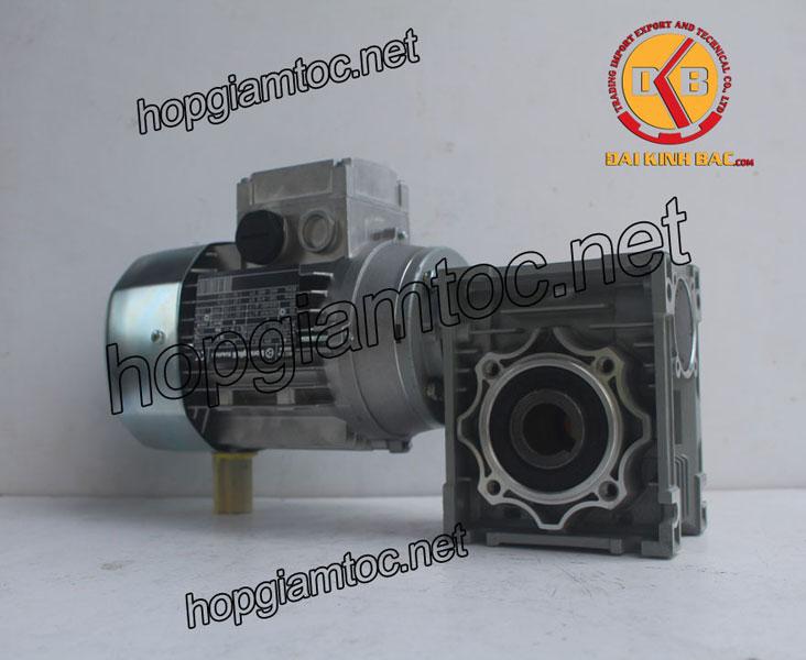 Motor giảm tốc cốt âm 0.55kw 3/4HP