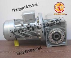Motor giảm tốc cốt âm 0.75kw 1/100