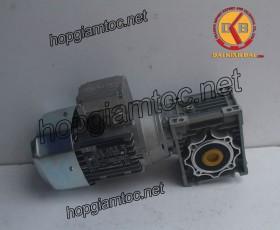 Motor giảm tốc cốt âm 0.75kw 1/5