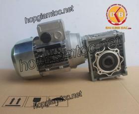 Motor giảm tốc cốt âm 0.75kw 1/7.5