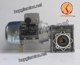 Motor giảm tốc cốt âm 1.1kw 1/20