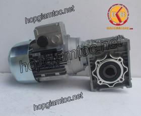 Motor giảm tốc cốt âm 1.5kw 1/25