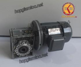 Motor giảm tốc cốt âm 2.2kw 3HP