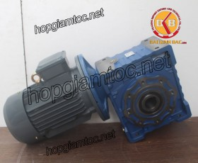 Motor giảm tốc cốt âm 3.7kw 5HP
