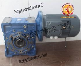 Motor giảm tốc cốt âm 5.5kw 1/30