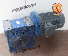 Motor giảm tốc cốt âm 5.5kw 1/40
