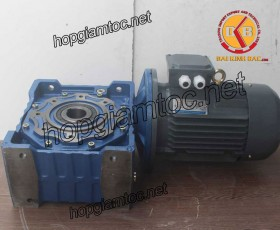 Motor giảm tốc cốt âm 5.5kw 1/50
