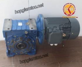 Motor giảm tốc cốt âm 7.5kw 1/40