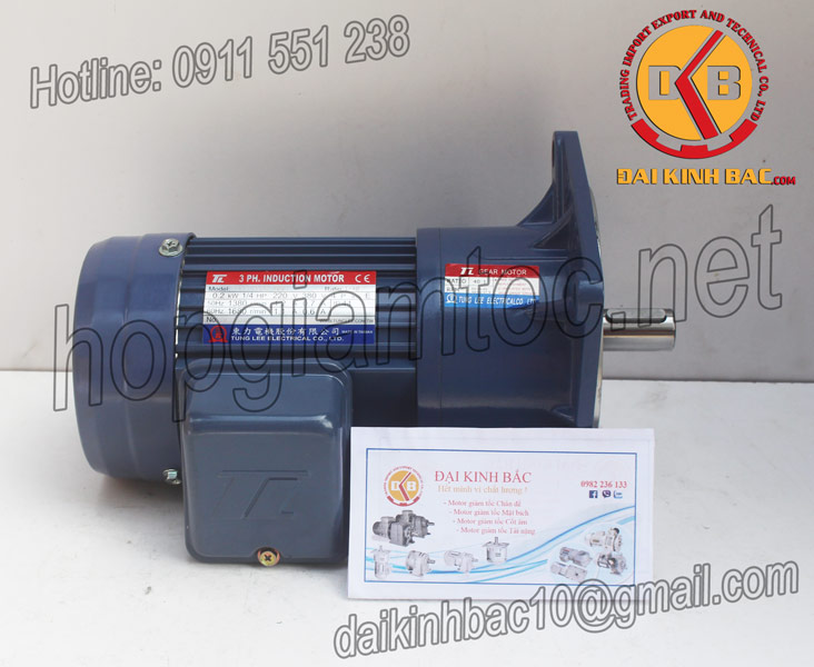 Motor giảm tốc Tunglee mặt bích 0.75kw