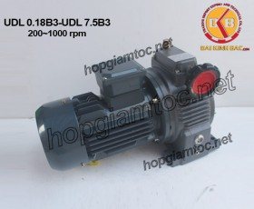 UDL stepless speed variator