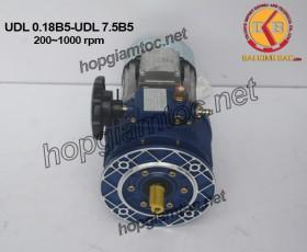 UDL stepless speed variator