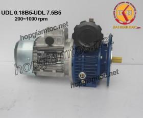 Variator speed 200~1000rpm